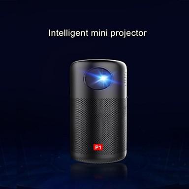 cheap Audio & Video Accessoires-LITBest P1 LED Projector Anker Nebula Capsule Smart Wi-Fi Mini Projector Black 150 ANSI Lumen Portable Projector 360° Speaker Movie Projector