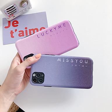 Недорогие Кейсы для iPhone-чехол для apple iphone 11 iphone 11 pro iphone 11 pro max противоударный задняя крышка цветной градиент тпу