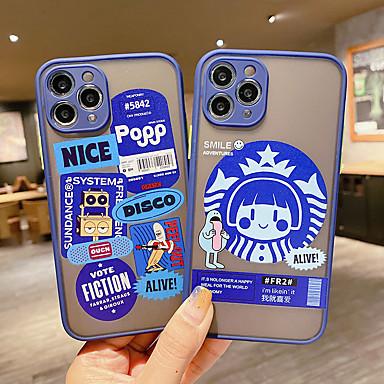 Недорогие Кейсы для iPhone-iphone11pro макс. кожа с мелкими порами, синяя этикетка, чехол xs max, полупрозрачный матовый 6/7 / 8plus / se 2020 защитный чехол