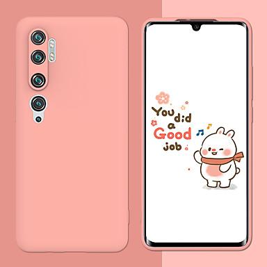 Недорогие Чехлы и кейсы для Xiaomi-сплошной цвет матовый чехол для телефона ТПУ для mi cc9 cc9 pro 9lite note10 9t