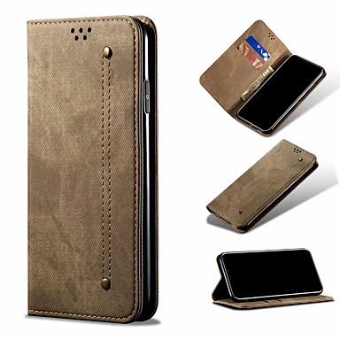 Недорогие Чехол Samsung-Кейс для Назначение SSamsung Galaxy Samsung Galaxy A20 / Galaxy A71 / Galaxy A51 Кошелек / Бумажник для карт / Флип Чехол Однотонный Кожа PU