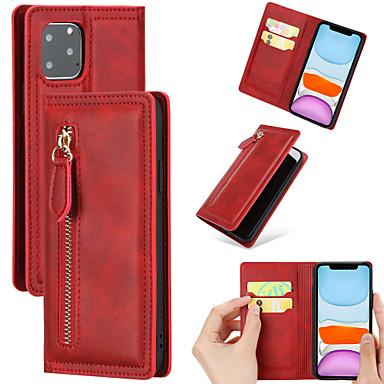 Недорогие Кейсы для iPhone-чехол для яблочного кошелька / противоударный чехол для всего тела / бампер из цельной кожи
