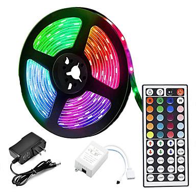 voordelige LED & Verlichting-LOENDE 5M Verlichtingssets 300 LEDs 2835 SMD 1 set RGB Creatief Feest Kerst Bruiloft Decoratie 12 V