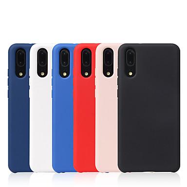 Недорогие Чехлы и кейсы для Xiaomi-чехол для xiaomi xiaomi redmi 9/8/8 lite / note8 / note8 pro / 8 / 8a / note 7 / note 7 pro / 7 / 7a противоударная задняя крышка сплошной цветной силикагель