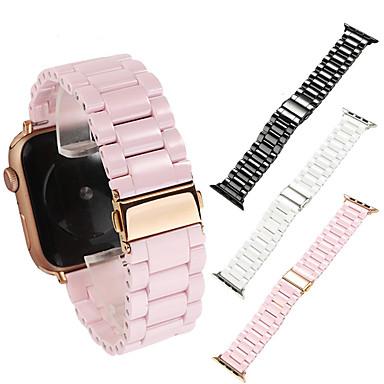 Недорогие Аксессуары для смарт-часов-керамический ремешок для яблочных часов серии 5 4 3 2 1 люкс керамический браслет для iwatch 38мм 42мм 40мм 44мм аксессуары