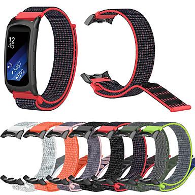 Недорогие Часы для Samsung-нейлоновый ремешок для часов для самсунга fit2 pro фитнес ремешки для часов ремешок для самсунга fit2 pro / samsung gear fit 2