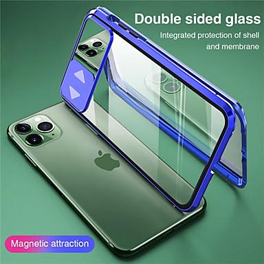 Недорогие Кейсы для iPhone-магнитное закаленное стекло двухсторонняя защитная крышка для iphone se 2020 11 11 pro 11 pro max x xs xr xs max 7 плюс 8 плюс 8 7