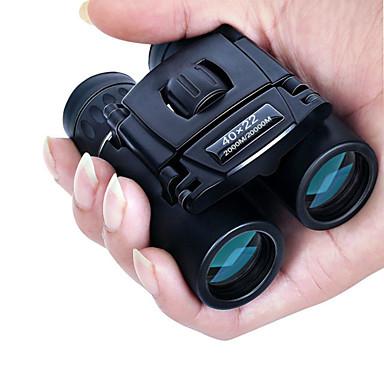 ieftine Electrice & Ustensile-Binoclu puternic 40x22 hd 2000m lungime rabatabilă mini telescop bak4 fmc optică pentru sporturi de vânătoare pentru călătorii în aer liber în camping