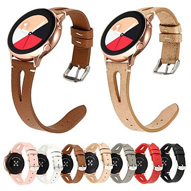Недорогие Часы для Samsung-22мм ремешок для часов для samsung gear s3 galaxy watch 46мм кожаный ремешок