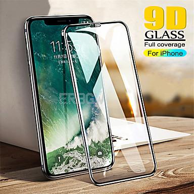 Недорогие Защитные плёнки для экрана iPhone-защитная пленка для яблочного экранателефон 11/11 pro / 11pro max / x / xs / xs max / 7/8 / 7plus / 8plus 9d сенсорная защитная пленка на передней панели 3 шт. / 5 шт. закаленное стекло