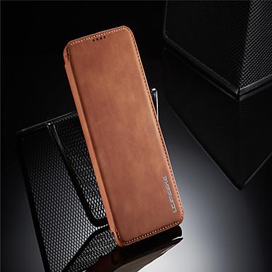 Недорогие Чехол Samsung-чехол для samsung galaxy s20 / s20 plus / s20 ultra / s10 / s10 plus / s10e / s10 5g / s9 / s9 plus / s8 / s8 plus / note 10 / note 10 plus / держатель карты a70 / противоударный / откидной чехол