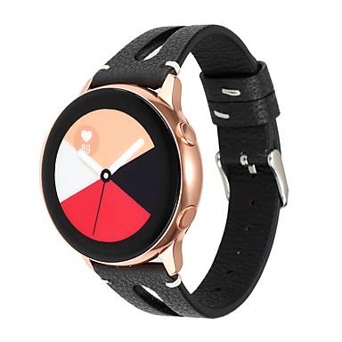 Недорогие Часы для Samsung-20мм ремешок для часов для samsung gear s2 galaxy watch 42мм кожаный ремешок