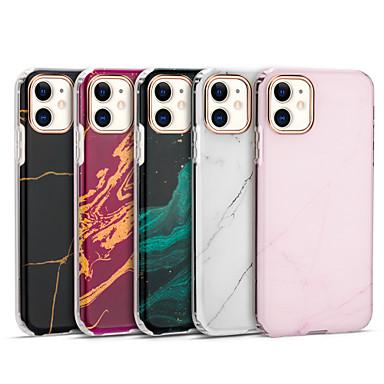 Недорогие Кейсы для iPhone-чехол для apple iphone 7 7p iphone 8 8p iphone x iphone xs xr xs max iphone 11 11 pro 11 pro max iphonese (2020) рисунок задняя крышка мраморное тпу