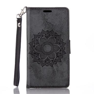 Недорогие Чехлы и кейсы для Sony-чехол для sony xperia x xa флип магнитные чехлы для всего тела цветок искусственная кожа