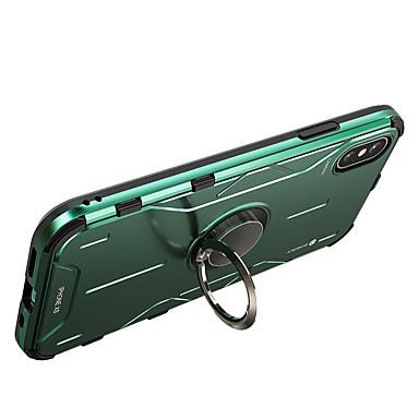Недорогие Кейсы для iPhone-чехол для appleiphone 7 8 iphone x xr xs xsmax iphonese (2020) iphone 11 iphone 11 pro iphone 11 pro max ударопрочный с подставкой, задняя крышка, сплошной цвет, силиконовый металл