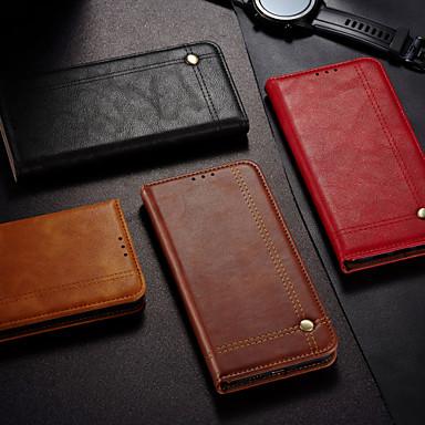 Недорогие Чехлы и кейсы для Xiaomi-чехол для xiaomi mi 10pro 10lite 10youth (5g) note10lite кошелек флип чехлы для тела сплошной цвет искусственная кожа
