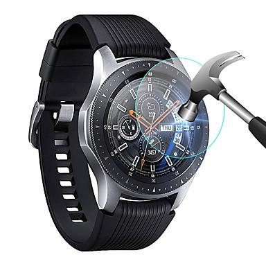 Недорогие Аксессуары для смарт-часов-3шт протектор экрана, совместимый для Samsung Galaxy Смотреть 46мм / 42мм закаленное стекло защитная пленка защитная крышка для Samsung Galaxy часы 46мм / 42мм