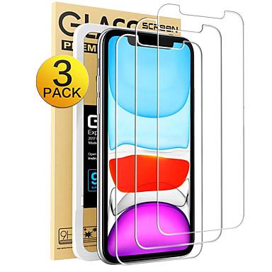 Недорогие Защитные плёнки для экрана iPhone-3шт iphone XR X XS XR Макс&усилитель, усилитель; iphone 11 11 pro 11 pro max защитная пленка для яблочных iPhone с бесплатным пленочным артефактом