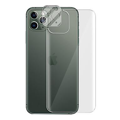 Недорогие Защитные плёнки для экрана iPhone-2 в 1 100% закаленное стекло задняя крышка объектива камеры защитная пленка hd 9h пленка для iphone 11 pro max iphone 12