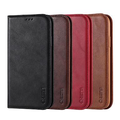 Недорогие Кейсы для iPhone-чехлы для iphone 7/8/7p / 8p / x / xs / xr / xs max / 11/11 pro / 11 pro max / se 2020 роскошные флип магнитные винтажные матовые кожаные сумки для телефона