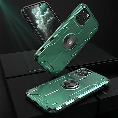 Недорогие Кейсы для iPhone-чехол для appleiphone 7 8 iphone x xr xs xsmax iphonese (2020) iphone 11 iphone 11 pro iphone 11 pro max противоударная задняя крышка однотонный силиконовый металл
