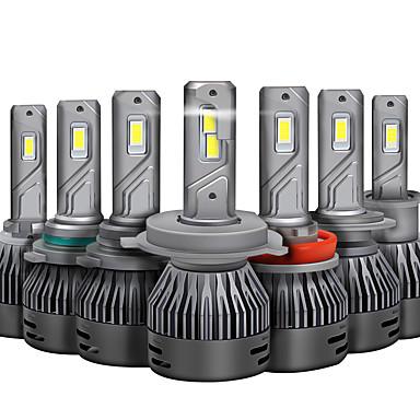 Недорогие Автомобильные фары-отолампара 2шт автомобильные лампочки 45 Вт CSP 8000 лм 2 светодиодные фары для универсальных всех моделей 2018/2017/2019