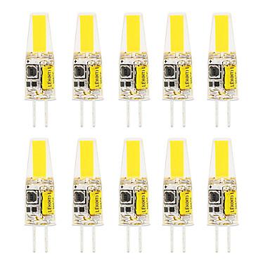 Недорогие Светодиодные электролампы-10шт 6шт 6 Вт из светодиодов силикагель кукурузные фонари светодиодные двухконтактные огни G4 удара высокой мощности светодиодные творческая вечеринка декоративные хрустальные люстры источник света