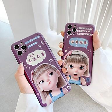 Недорогие Кейсы для iPhone-чехол для яблока iphone 7 8 7 плюс 8 плюс x xr xs xsmax se (2020) iphone 11 11pro 11promax противоударный рисунок задняя крышка сексуальная леди мультфильм тпу