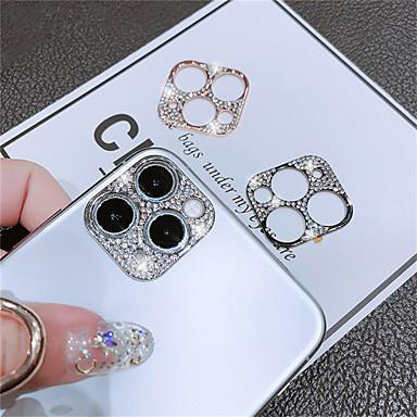 Недорогие Защитные плёнки для экрана iPhone-объектив камеры закаленное стекло для iphone 11 / iphone 11 pro / iphone 11 pro max с алмазной задней панелью объектива камеры защитная пленка для экрана iphone 11 / iphone 11 pro / iphone 11 pro max