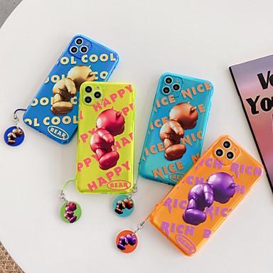 Недорогие Кейсы для iPhone-уникальный дизайн чехол для apple iphone 11 pro стильный чехол для мобильного телефона материал tpu противоударный задняя крышка для iphone 11 promax se2020 xsmax xs xr x iphone 8 plus 7 plus