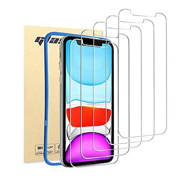 Недорогие Защитные плёнки для экрана iPhone-9h совместимо с iphone 11pro 11 x xr xs xsmax 8 7 6 Защитная пленка для экрана 6splus закаленное стекло Защитная пленка для крепления ремня Frame5 Pack Clear