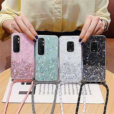 Недорогие Чехлы и кейсы для Xiaomi-блеск ремешок ремешок шнур цепи телефон ожерелье ремешок для xiaomi mi note 10 lite cc9 pro poco f2 pro x2 f1 redmi note 9 9s 8t 8 pro 8a 10x k30 k30pro zoom k20