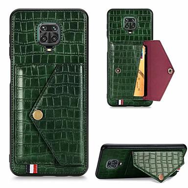 Недорогие Чехлы и кейсы для Xiaomi-чехол для телефона с рисунком крокодила для xiaomi redmi note 9 9s 9pro 9pro max 8 8t 8 pro 10x 10xpro k30 k30 pro zoom k30i искусственная кожа слот для карт памяти кошелек для xiaomi mi 10 lite poco