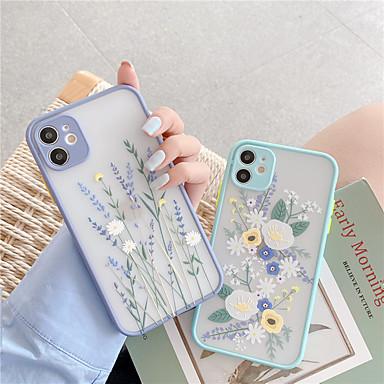 Недорогие Кейсы для iPhone-чехол для apple iphone 11 iphone 11 pro iphone 11 pro max противоударный матовый чехол для всего тела бампер цветок силикагель