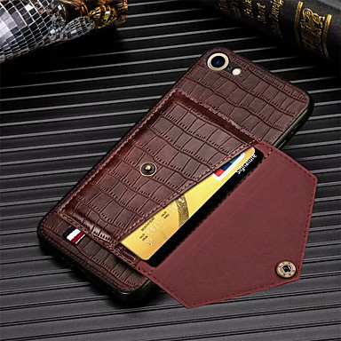 Недорогие Кейсы для iPhone-чехол для телефона крокодиловый узор для iphone se 2020 11 11pro 11pro max pu слоты для карт памяти из кожи кошелек для iphone x xs xr xs max 8plus 8 7plus 7 6plus 6 6splus 6s case