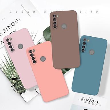 Недорогие Чехлы и кейсы для Xiaomi-чехол для redmi note 8t redmi k30 redmi note 8 pro ультратонкая задняя крышка сплошного цвета молотый тпу чехол для xiaomi note 10 pro mi cc9 pro xiaomi 9 lite mi 9t pro redmi k20 pro
