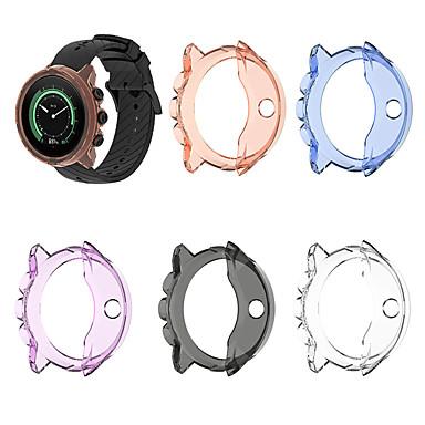 Недорогие Аксессуары для смарт-часов-для suunto 9/9 baro / spartan sport wrist hr замена баро тпу защитный чехол крышка прозрачный