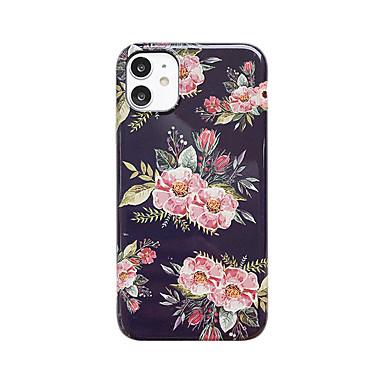 Недорогие Кейсы для iPhone-чехол для яблока iphone6 6plus 6s 7 8 se 7plus 8plus xr xs xsmax x 11 11pro 11promax шаблон задняя крышка декорации цветок тпу