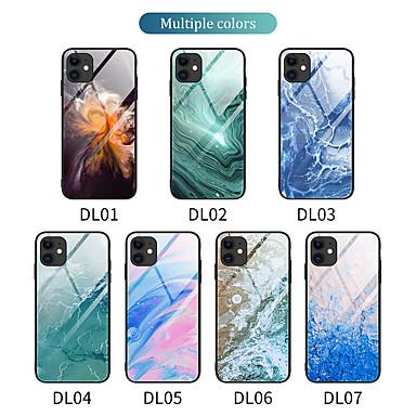 Недорогие Кейсы для iPhone-чехол для apple iphone 11 iphone 11 pro iphone 11 pro max iphone6g 6s 6p 6ps 7g 8g iphonese2020 iphone7p 8p iphonexs iphonex iphonexr iphonexsmax противоударное зеркало задняя крышка мраморное тпу