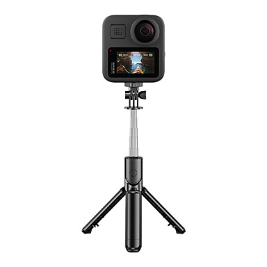 Недорогие Bluetooth палка для селфи-S03 горячий портативный беспроводной bluetooth спорт работает селфи палка штатив складной монопод ios android телефон gopro камеры
