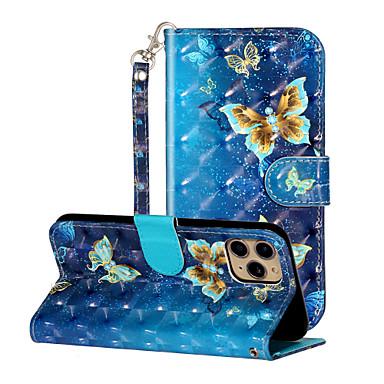 Недорогие Кейсы для iPhone-чехол для apple iphone5 5c 5s se 6 6s 7 8 6plus 6splus 7plus 8plus x xr xs xsmax se (2020) iphone 11 11pro 11promax противоударный флип-рисунок чехлы для всего тела бабочка животное цветок