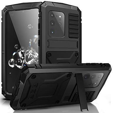 Недорогие Чехол Samsung-samsung s20plus новый кронштейн три анти-мобильный телефон оболочки s20ulrta водонепроницаемый противоударный противоударный с функцией кронштейна для защиты телефона во всех направлениях
