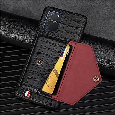 Недорогие Чехол Samsung-чехол для телефона с крокодиловым рисунком для samsung galaxy galaxy a91 m80s a81 m60s a71 a51 a41 a21 a11 a01 a70 a50 a30 a20 a20 a10 искусственная кожа слот для карт памяти кошелек для galaxy s20