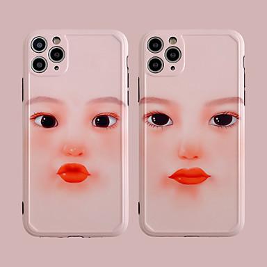 Недорогие Кейсы для iPhone-чехол для яблока iphone7 8 7plus 8plus xr xs xsmax x se 11 11pro 11promax шаблон задняя крышка милая девушка тпу pc