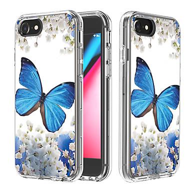 Недорогие Кейсы для iPhone-чехол для apple iphone 6 6s 7 8 6plus 6splus 7plus 8plus x xr xs xsmax se (2020) iphone 11 11pro 11promax противоударный блеск блестящий задняя крышка слово фраза бабочка животное tpu pc