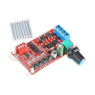 halpa Arduino-tarvikkeet-tasavirtamoottorin eteen- ja taaksepäin -ohjaussäätimen nopeutta säätelevä käyttölevy