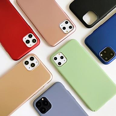 Недорогие Кейсы для iPhone-чехол для яблока iphone6 6s 7 8 6plus 6splus 7plus 8plus iphonex xr xs xsmax iphonese (2020) iphone 11 11pro 11promax противоударная задняя крышка сплошной цветной ПК