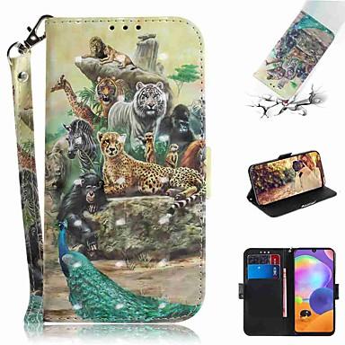 Недорогие Чехол Samsung-чехол для samsung galaxy s20 galaxy s20 plus galaxy s20 ультра кошелек для карточек с подставкой для чехлов для тела zoo pu кожаный тпу для galaxy a51 a71 a70e a81 a91 a11 a31 a41 a21 a21