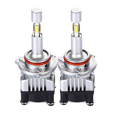 Недорогие Автомобильные фары-автомобильные аксессуары светодиодные фары h7 h4 9005 9006 9012 h11 h7 4-сторонний автомобиль h4 светодиодные фары для всех авто 30 Вт 3600мл