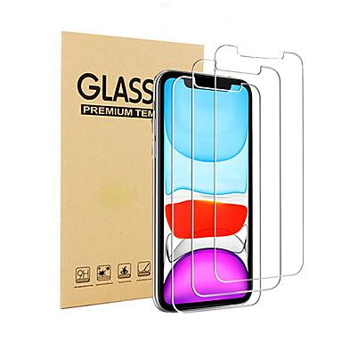 Недорогие Защитные плёнки для экрана iPhone-9h совместимо с iphone 11pro 11 x xr xs xsmax 8 7 6 Защитная пленка для экрана 6splus Закаленное защитное стекло для iphone 3 упак.